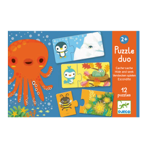 Djeco Puzzle Duo Hide and Seek