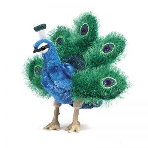 Folkmanis Peacock Puppet