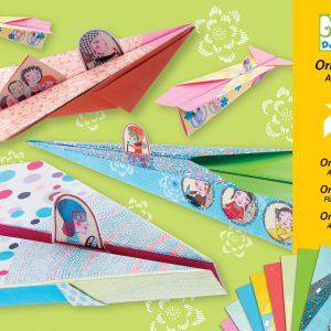 Djeco Origami Planes - Girls