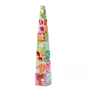 Djeco Stacking Cubes Forest