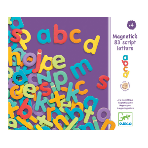 Djeco Magnetic Letters Lowercase