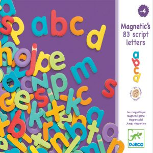 Djeco Magnetic Letters - Lowercase