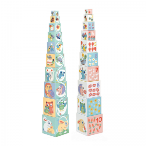 Baby Bloki Stacking Cubes