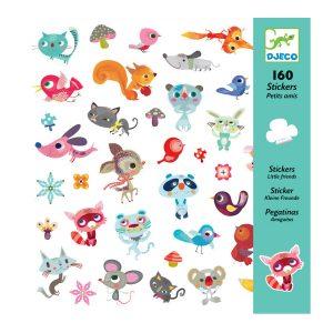 Djeco Little Friends Stickers