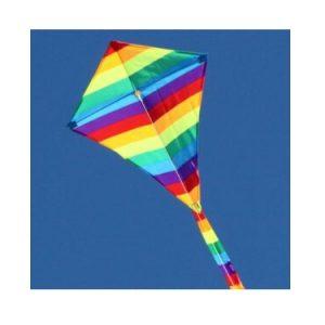 Rainbow Diamond Kite