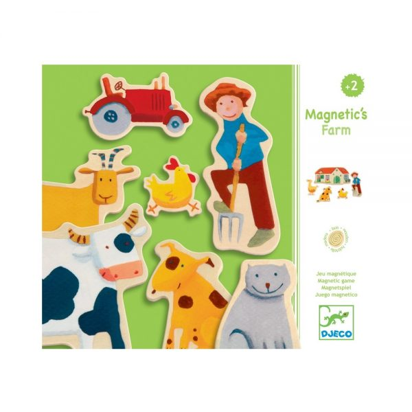 Djeco Farm Magnets