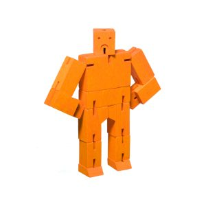 Cubebot by AREAWARE Micro Orange