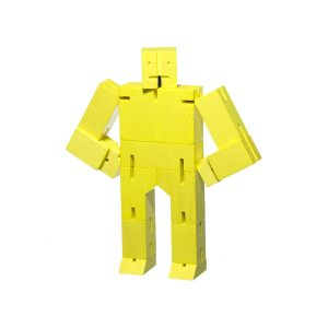 Cubebot by AREAWARE Micro Yellow