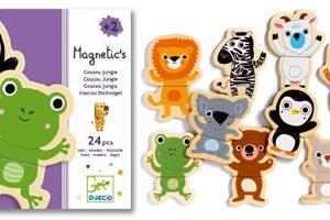 Djeco Magnetic Coucou Animals