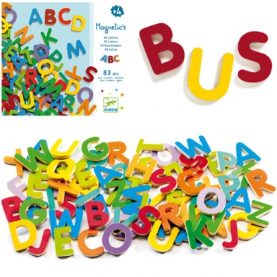 Djeco Magnetic Letters - Uppercase