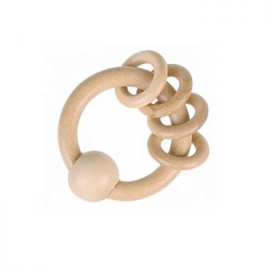 Heimess Nature Rattle 4 rings