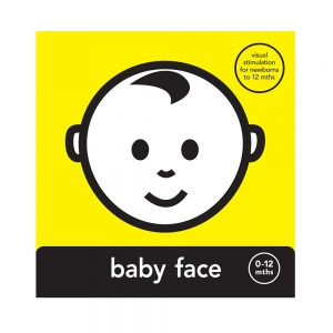 Baby Face High Contrast Book for babies