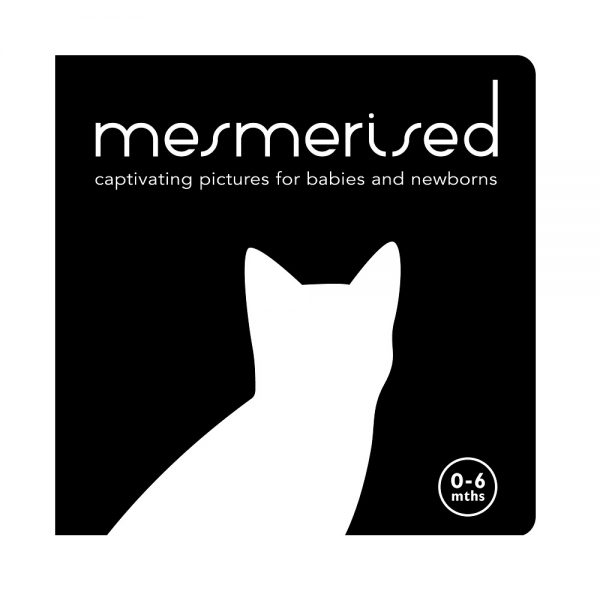 Mesmerised Black and White Book for babies