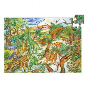 Djeco Puzzle Observation Dinosaurs 100pce