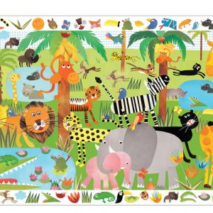 Djeco Observation Puzzle Jungle 35pce
