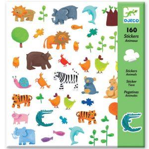 Djeco Stickers - Animals