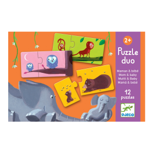 Djeco Puzzle Duo Mum and Baby