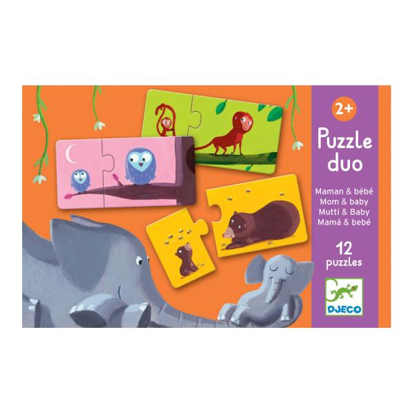 Djeco Puzzle Duo Mum and Baby