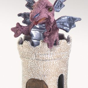Dragon in a Turret Hand Puppet