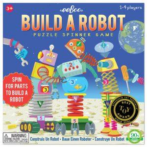 Eeboo Build A Robot Game