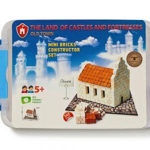 Mini Bricks Constructor Set Church