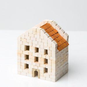 Mini Bricks Constructor Set Hairdressers