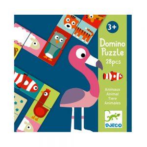 Domino Puzzle Animals