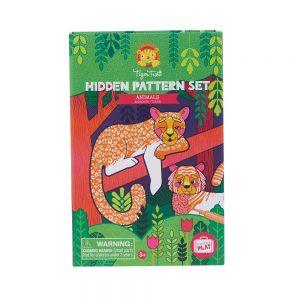 Tiger Tribe Hidden Patterns - Animals