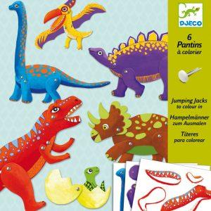 Djeco Dinosaur Puppets