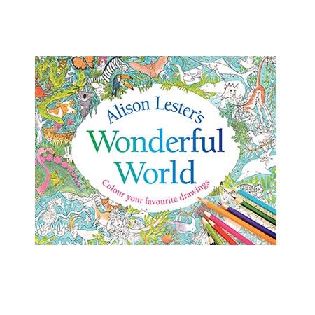 Alison Lester Wonderful World of Colouring