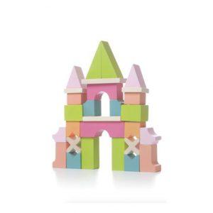 Cubika Wooden Castle Blocks