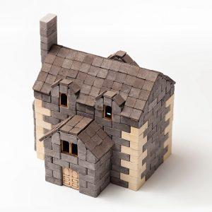 Mini Bricks Constructor Set English House