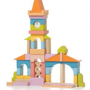 Cubika Wooden Townhall Blocks