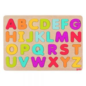 GOKI Wooden ABC Puzzle