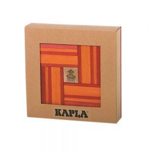 KAPLA Book & Colours Red/Orange