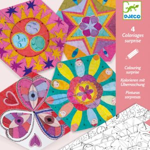 Djeco Colouring Surprise - Constellation Mandalas