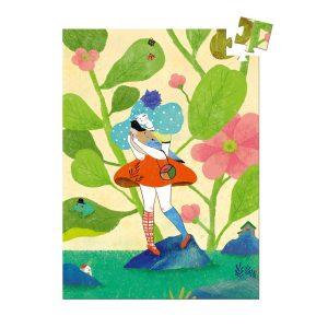 Djeco Mini Puzzle Miss Chichi 60pce