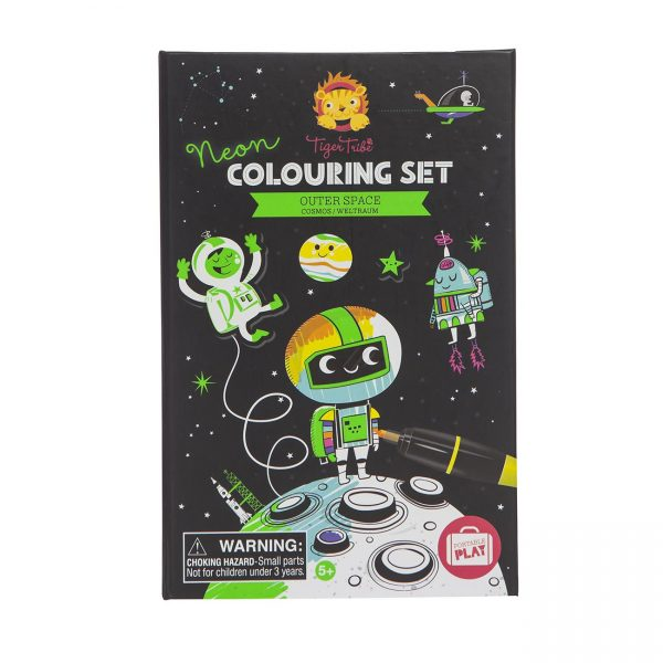 Colouring Set Outer Space
