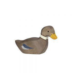 Holztiger Duck Swimming