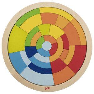 Goki Circle Puzzle