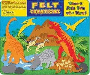 Prehistoric Dinosaurs Felt Board