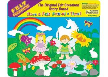 Flower Fairy Felt Board