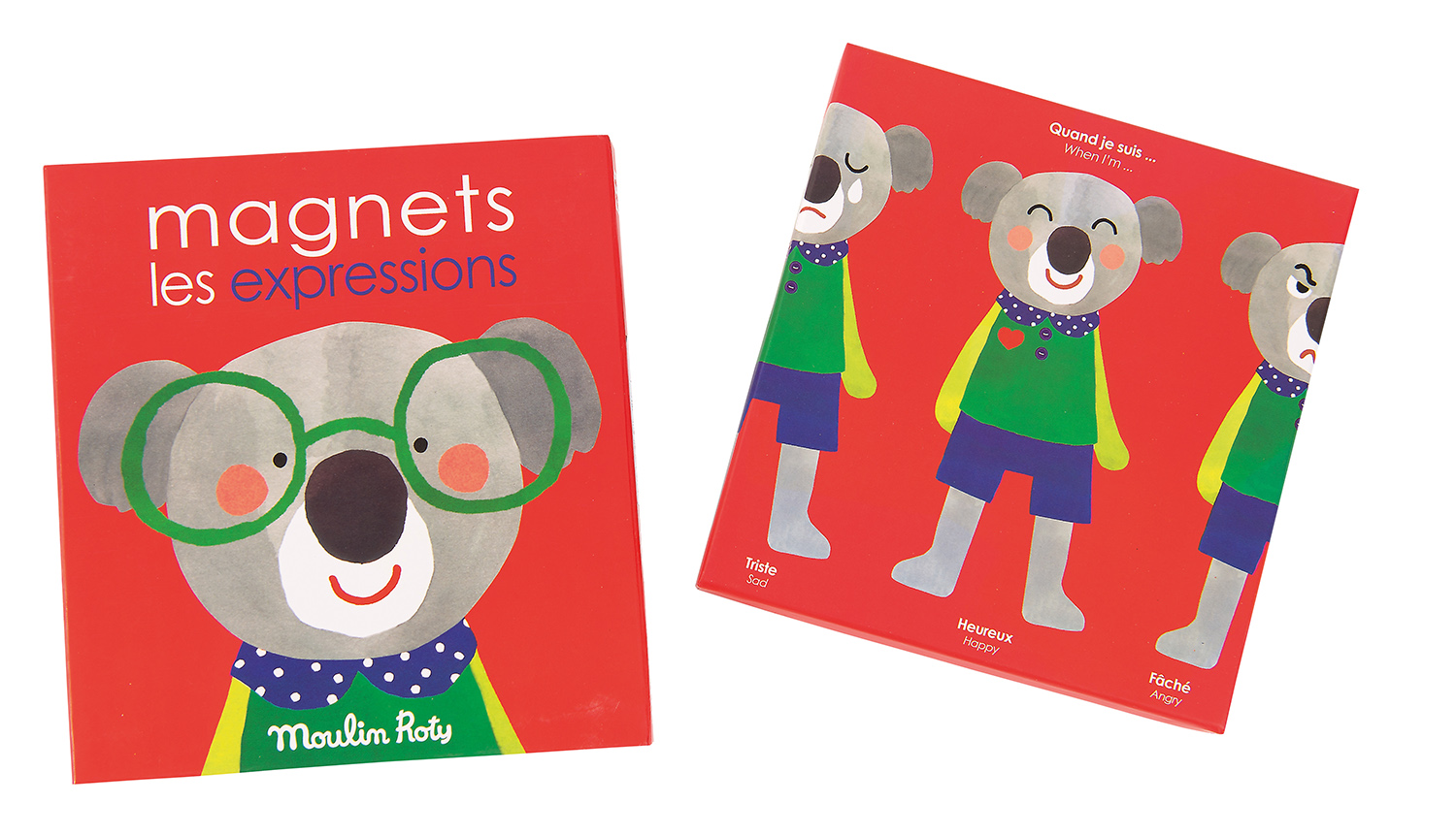 Moulin Roty Emotions & Expressions Magnetic Game