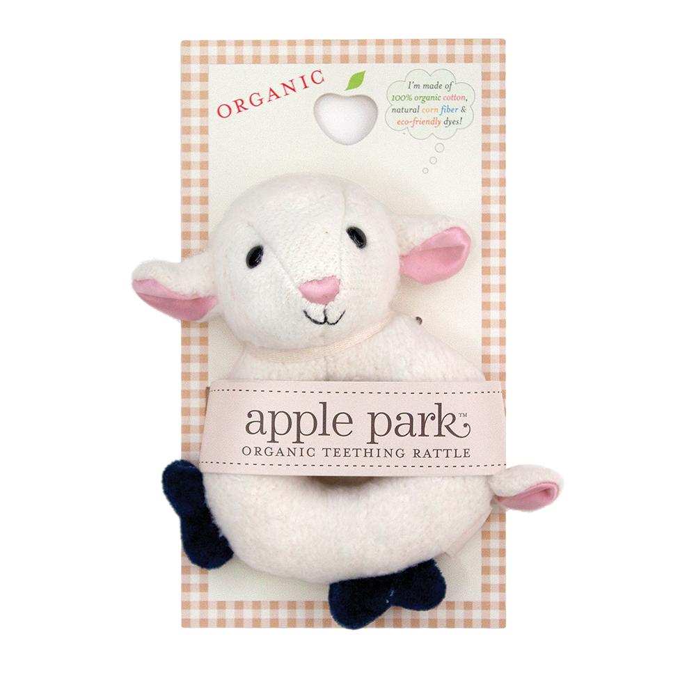 Apple Park Soft Rattle Lamb