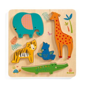 Djeco Woody Jungle Puzzle