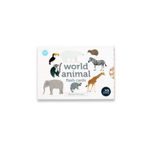 World Animals Flash Cards