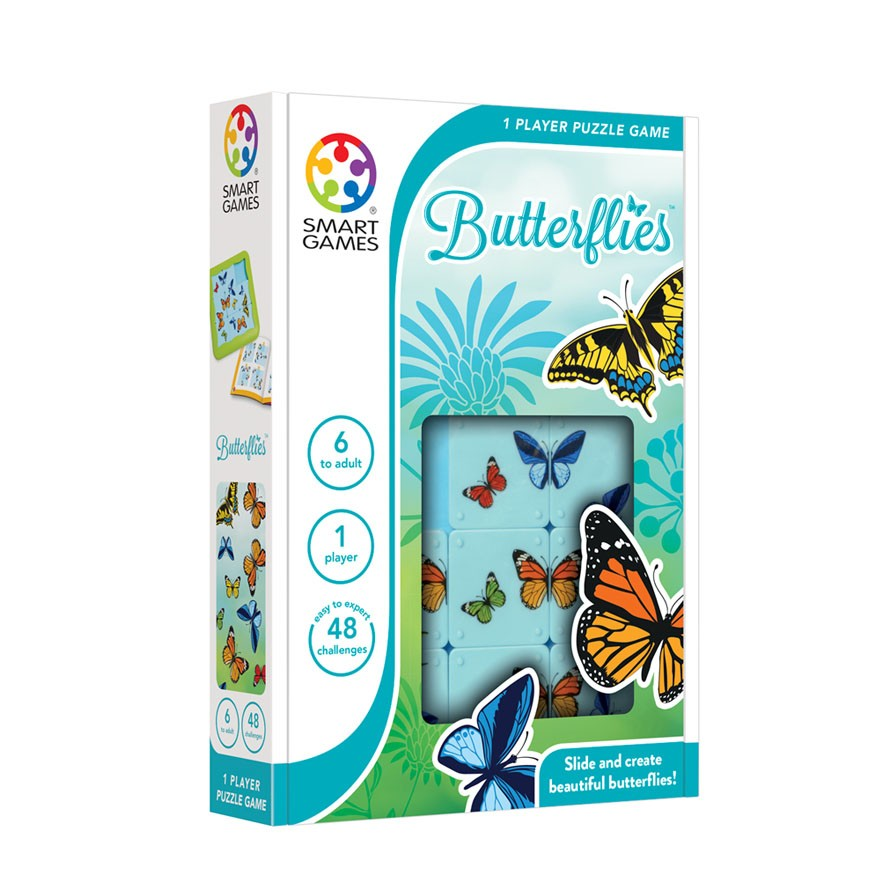 Butterflies Puzzle Game