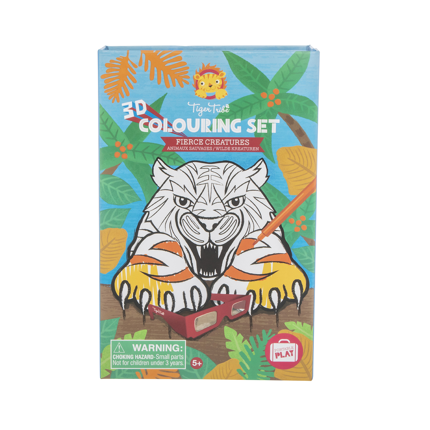 Colouring Set 3D Fierce Creatures