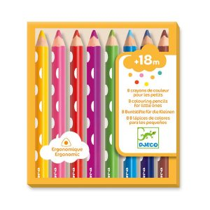 Djeco Colouring Pencils Chunky