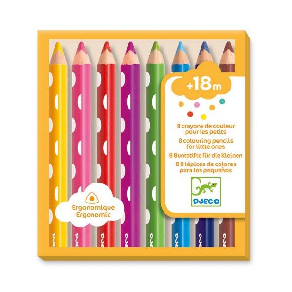 Djeco Colouring Pencils Chunky